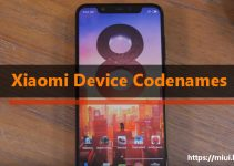 Xiaomi Device Codenames Cheatsheet 4