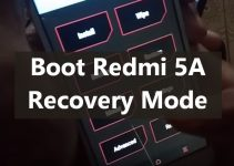 Rebooting Redmi 5A into Recovery Mode 4