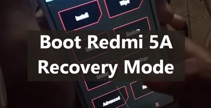 Rebooting Redmi 5A into Recovery Mode 15