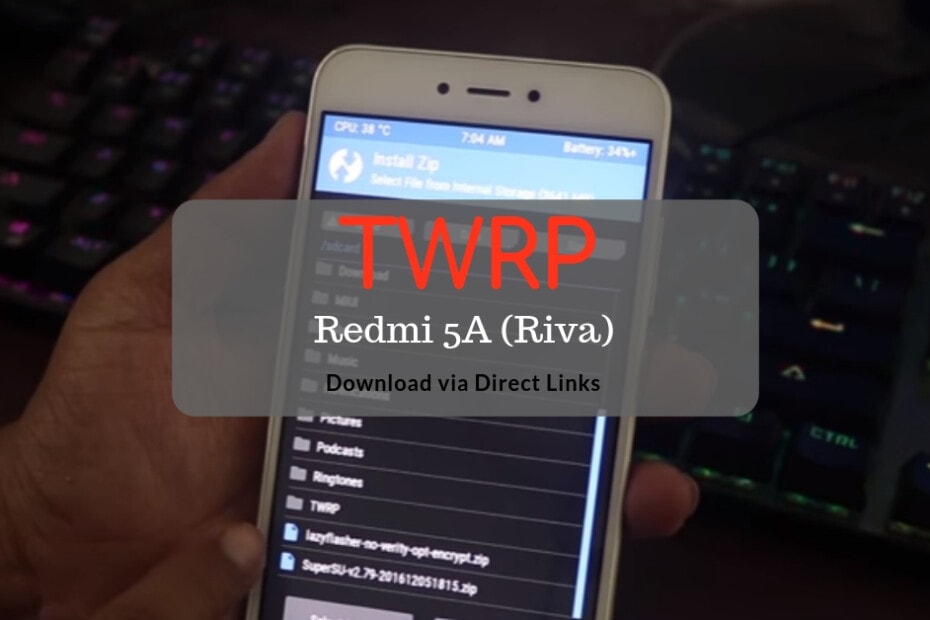 Official TWRP v3.2.3-0 for Redmi 5A 15