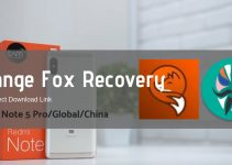 Orange Fox Recovery for Redmi Note 5 Pro/Global/China Codename Whyred 9