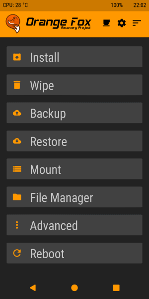 Orange Fox Recovery for Redmi Note 5 Pro/Global/China Codename Whyred 2