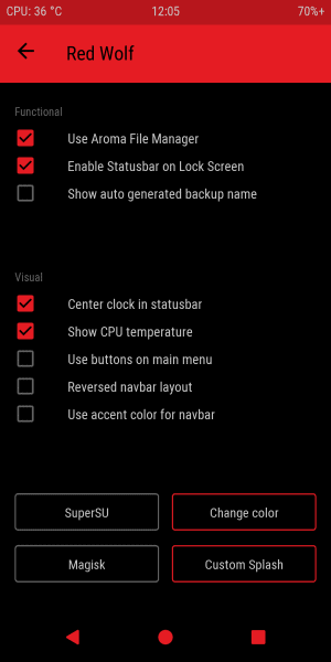 Red Wolf Recovery Project (RWRP) for Redmi Note 5 Pro/Global/China Codename Whyred 6