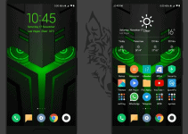 Dark Helo: Black Shark MIUI Theme 5