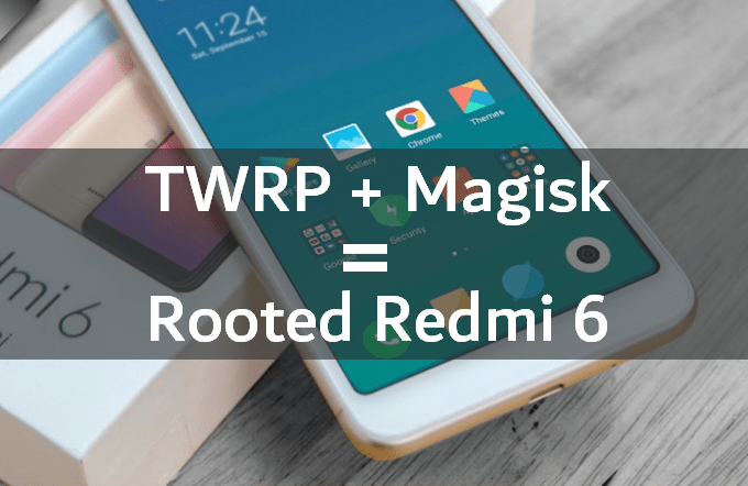 How to Flash TWRP on Redmi 6 (and Root) 1