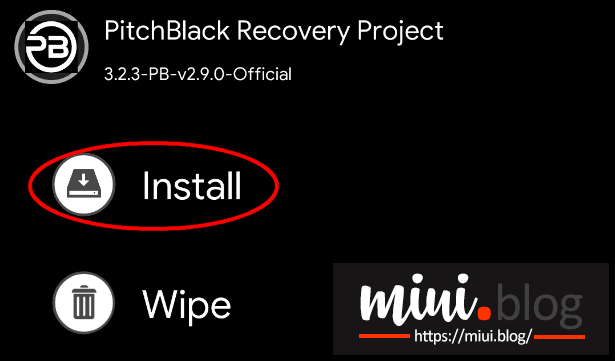 Fail-proof Steps to Flash Pitch Black TWRP on Poco F1 5