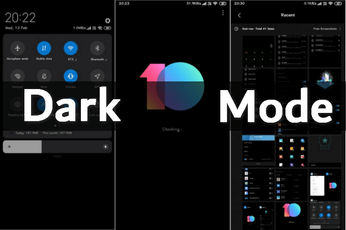Bug in MIUI 10 Allows You to Enable Dark Mode - Here's How! 1
