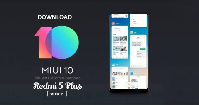 Redmi 5 Plus: MIUI v10.0.4.0 Global Stable ROM 1