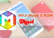 Masik X v2.4 Custom MIUI ROM for Redmi Note 5 Pro/Ai (Whyred) 7