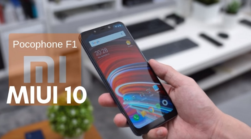 Poco F1: MIUI 10 v10 2 2 0 Fastboot and Recovery Global Stable ROM