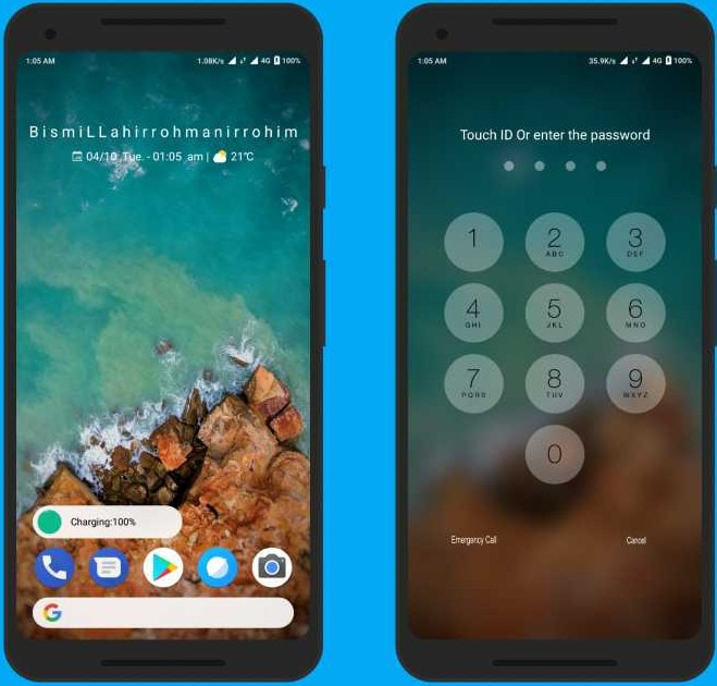 Pure Android P MIUI 9 Theme: Upgrade Your Xiaomi Phone to Android 9.0 Pie 7