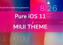 Pure iOS 11: A Complete iPhone X MIUI Theme 6