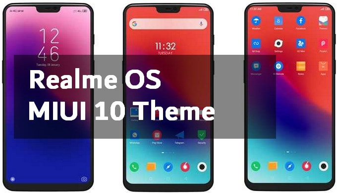 Realme OS: Transform MIUI 10 to Color OS UI | MIUI Blog