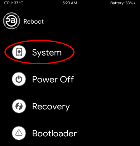 Pitch Black Recovery Flashing Steps for Redmi 5 Plus (Vince) 13