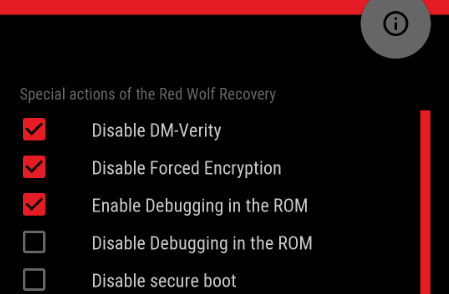 Flash Red Wolf Recovery and Root Redmi 5 Plus 6