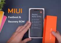 Redmi Note 6 Pro: MIUI 9 Fastboot and Recovery ROM 4