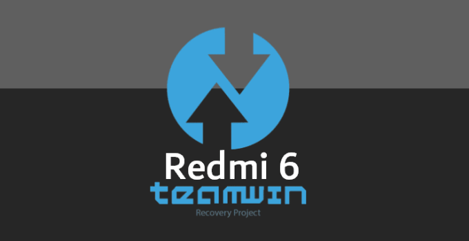 TWRP v3.3.0-0 for Redmi 6 (IMG 17MB) 6