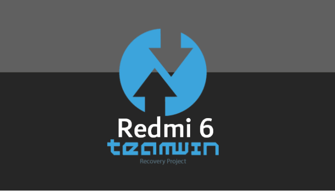 TWRP v3.3.0-0 for Redmi 6 (IMG 17MB) 1