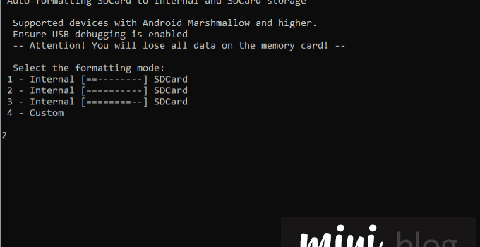 SD Card Auto-formatting Tool (Windows & Linux) 3