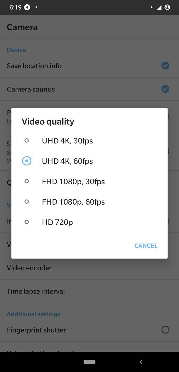 4K60 Lib for Poco F1 - Enable 4K Recording at 60fps 2