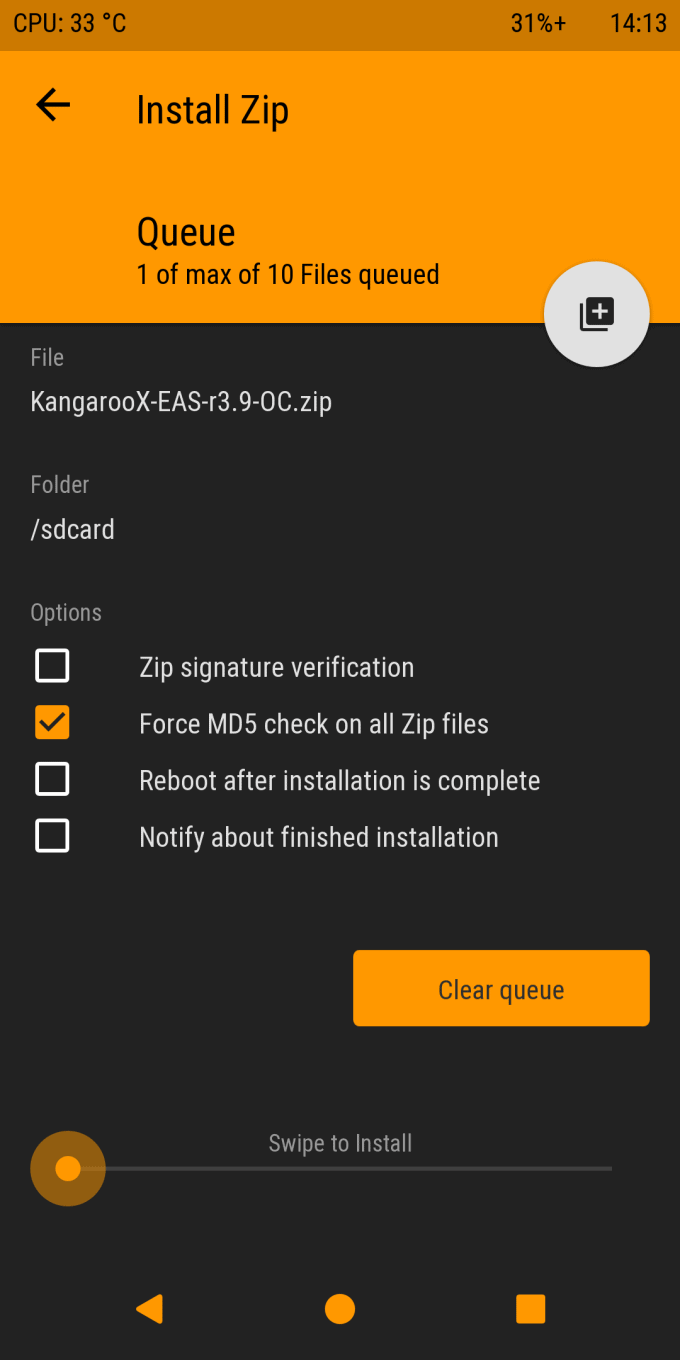 Painless Steps to Flash KangarooX Kernel on Redmi Note 5 codename Whyred 3