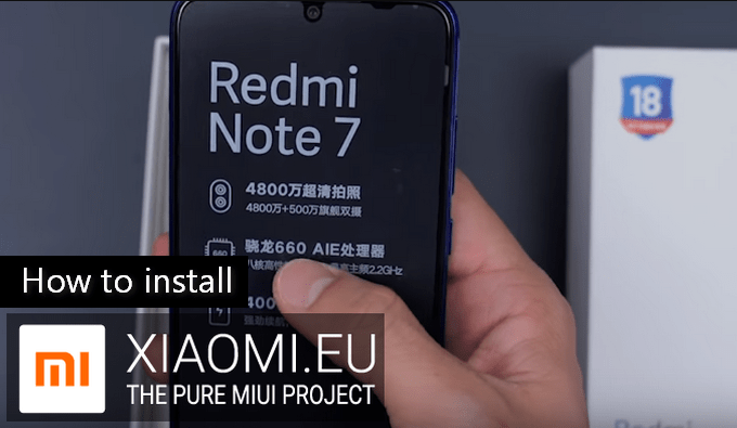 Effortless Steps to Install Xiaomi eu MIUI ROM on Redmi Note