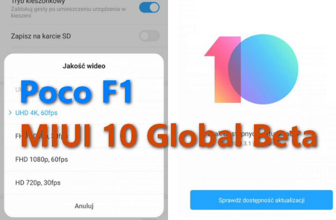 MIUI 10 v9.3.1 Global Beta Brings 4K60 on Poco F1 (Download ZIP) 1