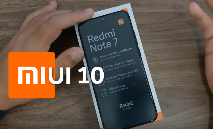 Redmi Note 7: MIUI 10 Global Stable v10 2 3 0 ROM (Fastboot
