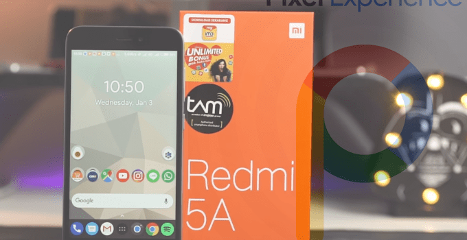 Pixel Experience 8.1 Oreo and 9.0 Pie for Redmi 5A 9