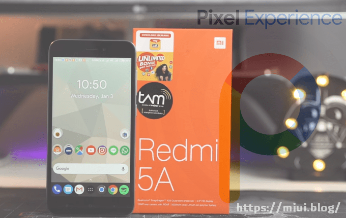 Pixel Experience 8 1 Oreo and 9 0 Pie for Redmi 5A | MIUI Blog