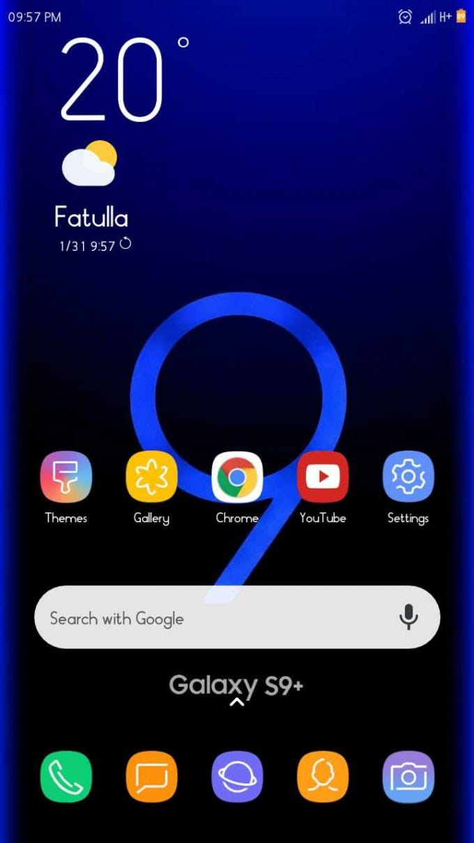 S9 v3 0: MIUI 10 to Galaxy S9 Transformer Theme | MIUI Blog