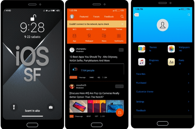 iOS SF Transforms MIUI 10 to iPhone iOS (with Dark Mode) 1