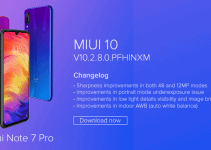 Redmi Note 7 Pro: MIUI 10 v10.2.8.0 Global Stable ROM (Fastboot & Recovery) 4