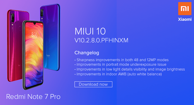 Redmi Note 7 Pro: MIUI 10 v10.2.8.0 Global Stable ROM (Fastboot & Recovery) 2