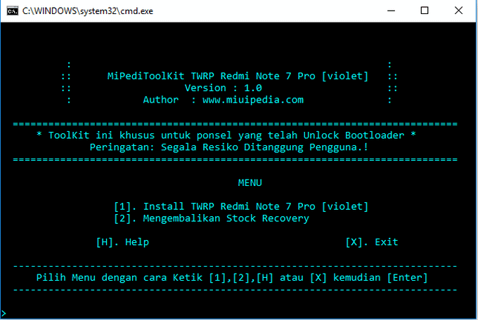 TWRP Installer and Magisk Root for Redmi Note 7 Pro (Codename Violet) 1