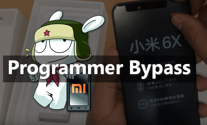 Authorized Account Programmer Bypass for Mi 6X 1