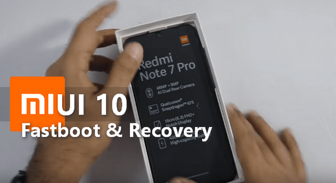 Redmi Note 7 Pro: MIUI 10 v10.2.8.0 Global Stable ROM (Fastboot & Recovery) 1