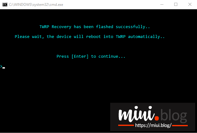A Dead Simple Way to Flash TWRP and Root Mi 8 5