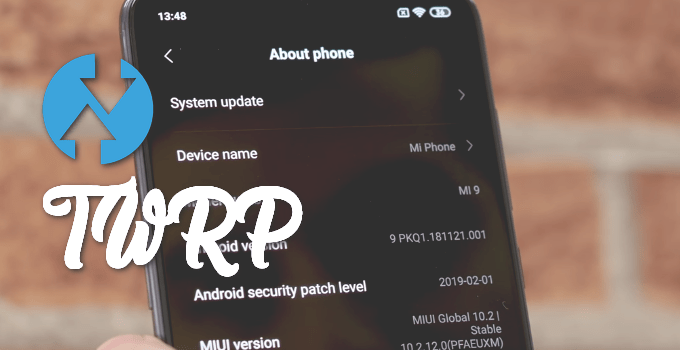 TWRP Recovery for Mi 9 (with Installer Toolkit) 5