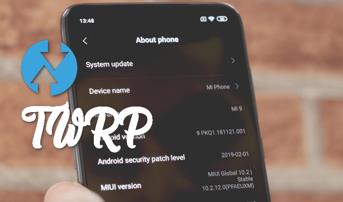 TWRP Recovery for Mi 9 (with Installer Toolkit) 1
