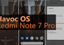Havoc OS v2.4 Android 9.0 Pie for Redmi Note 7 Pro 7