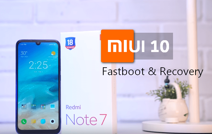Redmi Note 7: MIUI 10 v10 3 5 0 Global Stable ROM (Fastboot