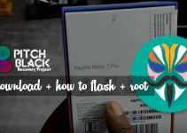 Pitch Black, Better Than TWRP for Redmi Note 7 Pro 10