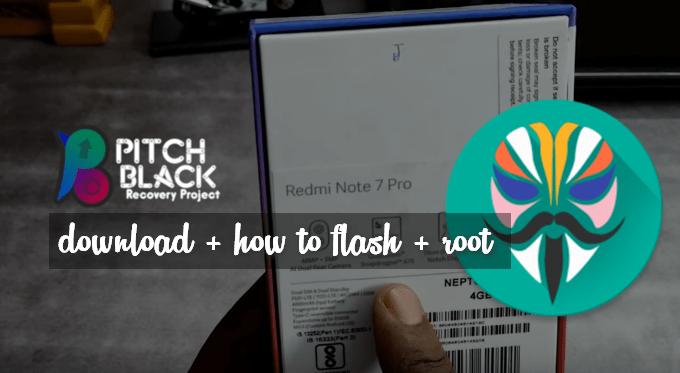 Pitch Black, Better Than TWRP for Redmi Note 7 Pro 1