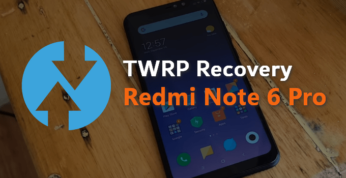 ATG Droid TWRP v3.3.0-1 for Redmi Note 6 Pro 1