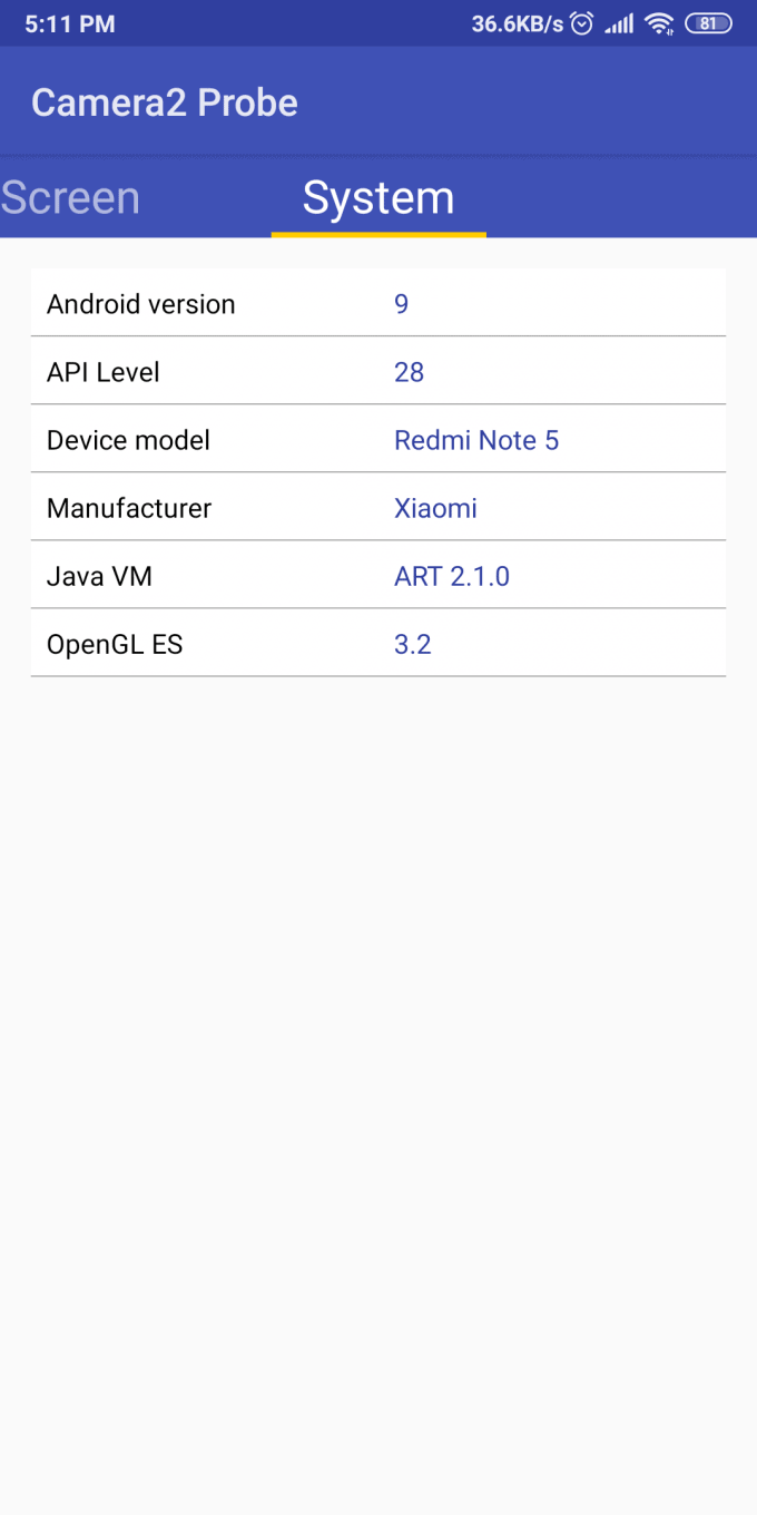 A Proven Way to Enable Camera2 API on Redmi Note 5 MIUI 11 Android 9.0 Pie (and Use Gcam) 17