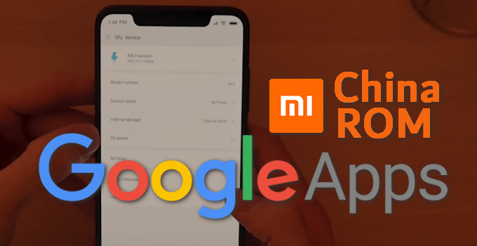 Google Apps Basic APK Installers for MIUI Android 9.0 Pie 9