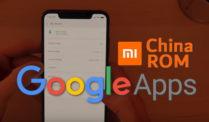 Google Apps Basic APK Installers for MIUI Android 9 0 Pie