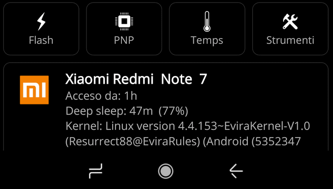 Evira, The Most Efficient Kernel for Redmi Note 7 1