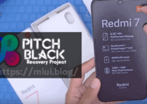22 Steps to Flash Pitch Black TWRP on Redmi 7 Onclite (And Root) 4